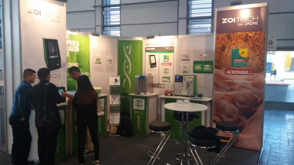 eurotier 2018 zoitechlab team booth